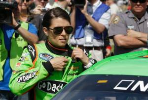 Danica Patrick before race (John Raoux/AP)