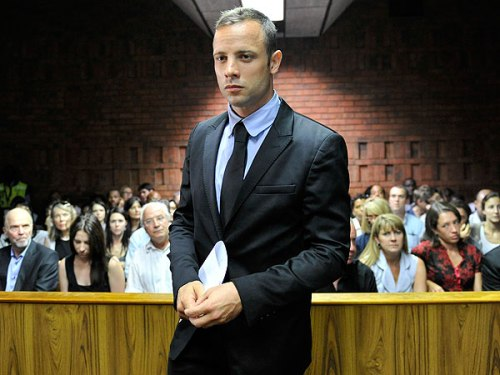 Oscar in court (HERMAN VERWEY/CITY PRESS/GALLO IMAGES/GETTY)